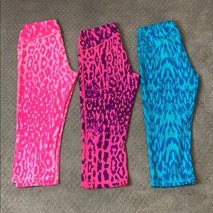 Bundle of 3 like new Z by Zella Capri leggings